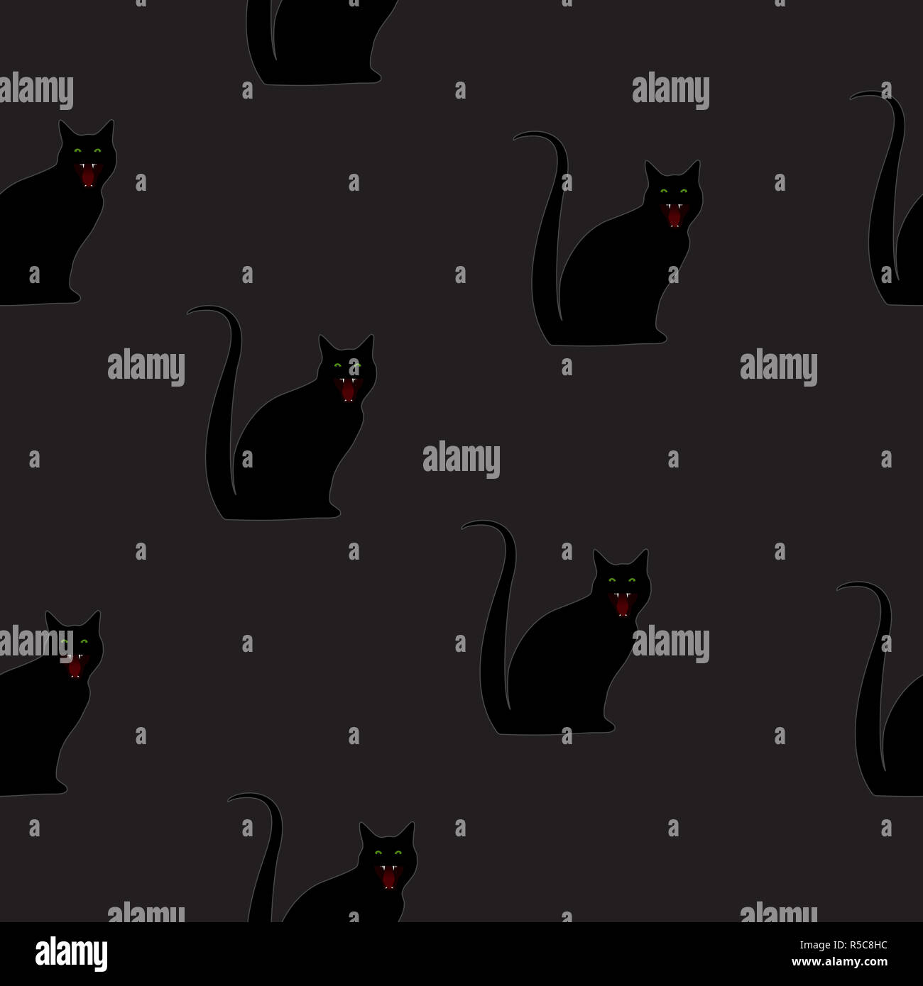 Katzen Silhouette Stockfotos und  bilder Kaufen   Alamy