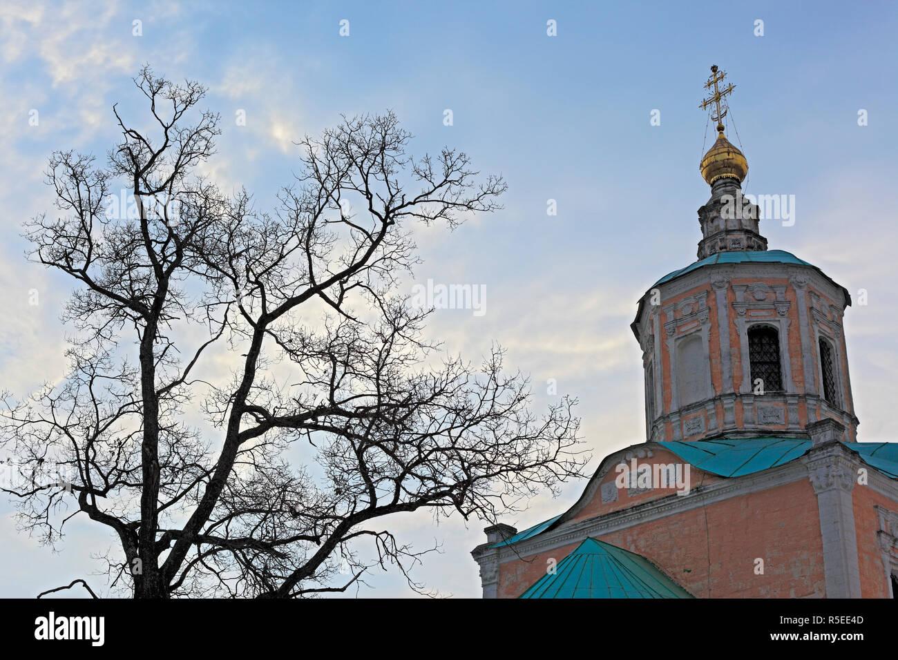 Kirche des Heiligen Wladimir (18. Jahrhundert), Chukavino, Twer, Russland Stockbild