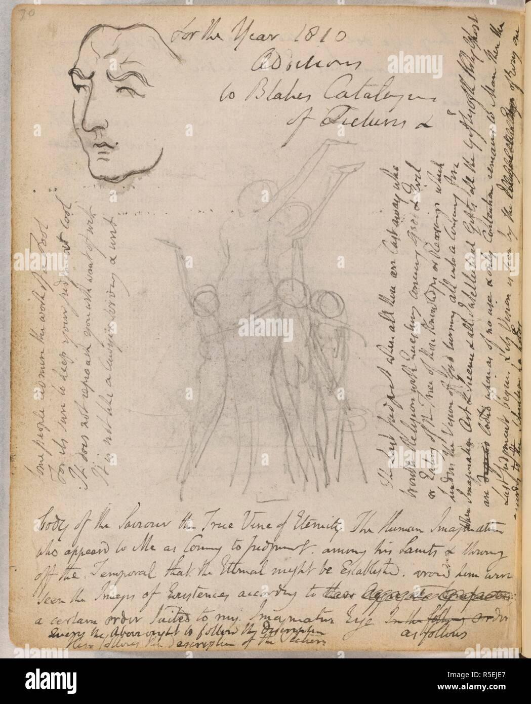 Skizzen Und Gedichte Von Blake Notebook Von William Blake