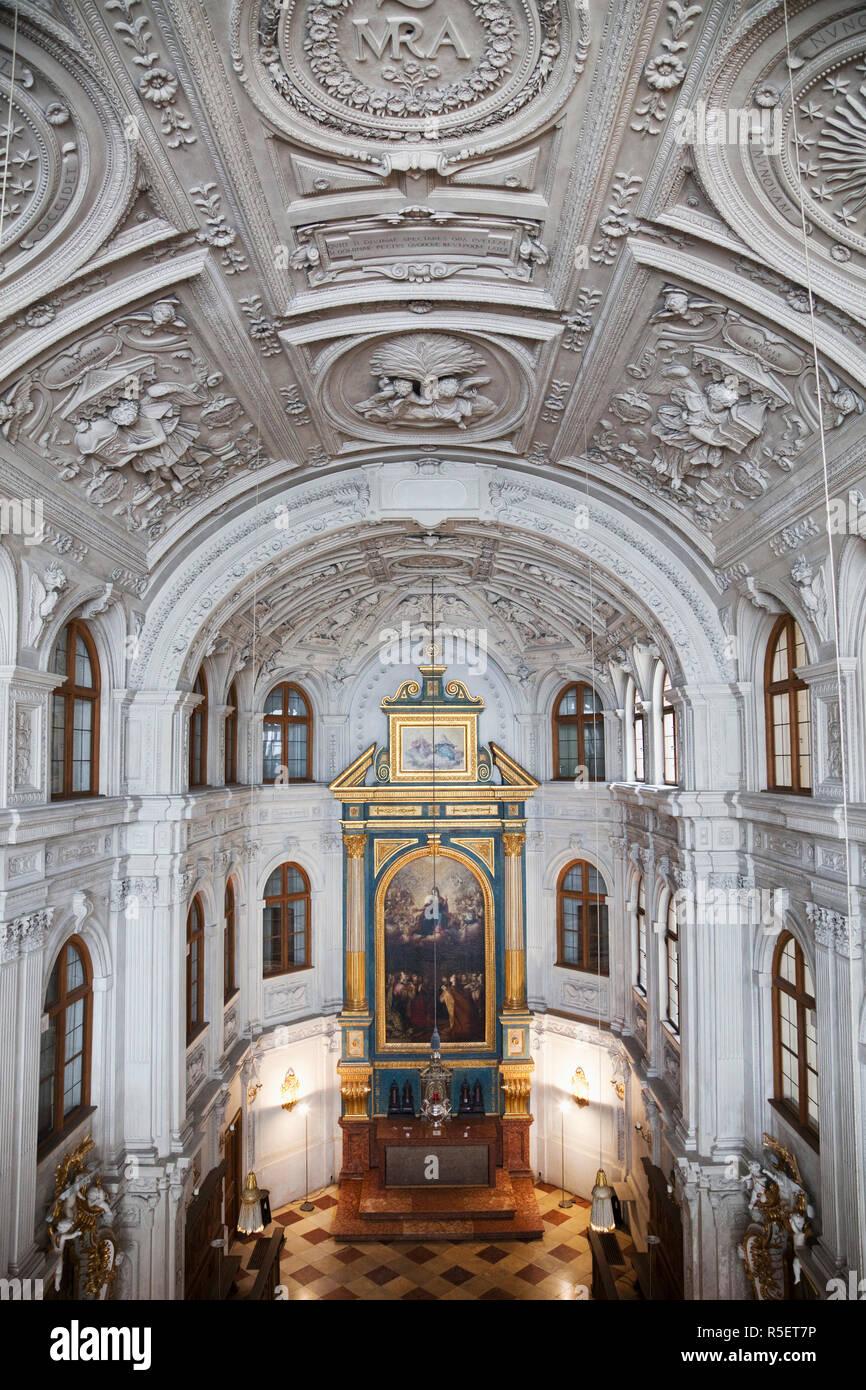Deutschland Bayern München München Residenz Museum Die Kapelle