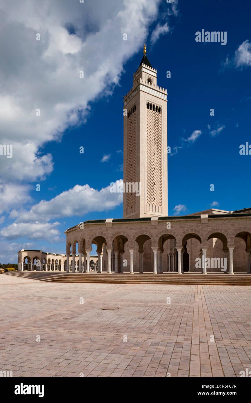 Tunesien, Tunis, Karthago, Moschee del Abedine Stockbild