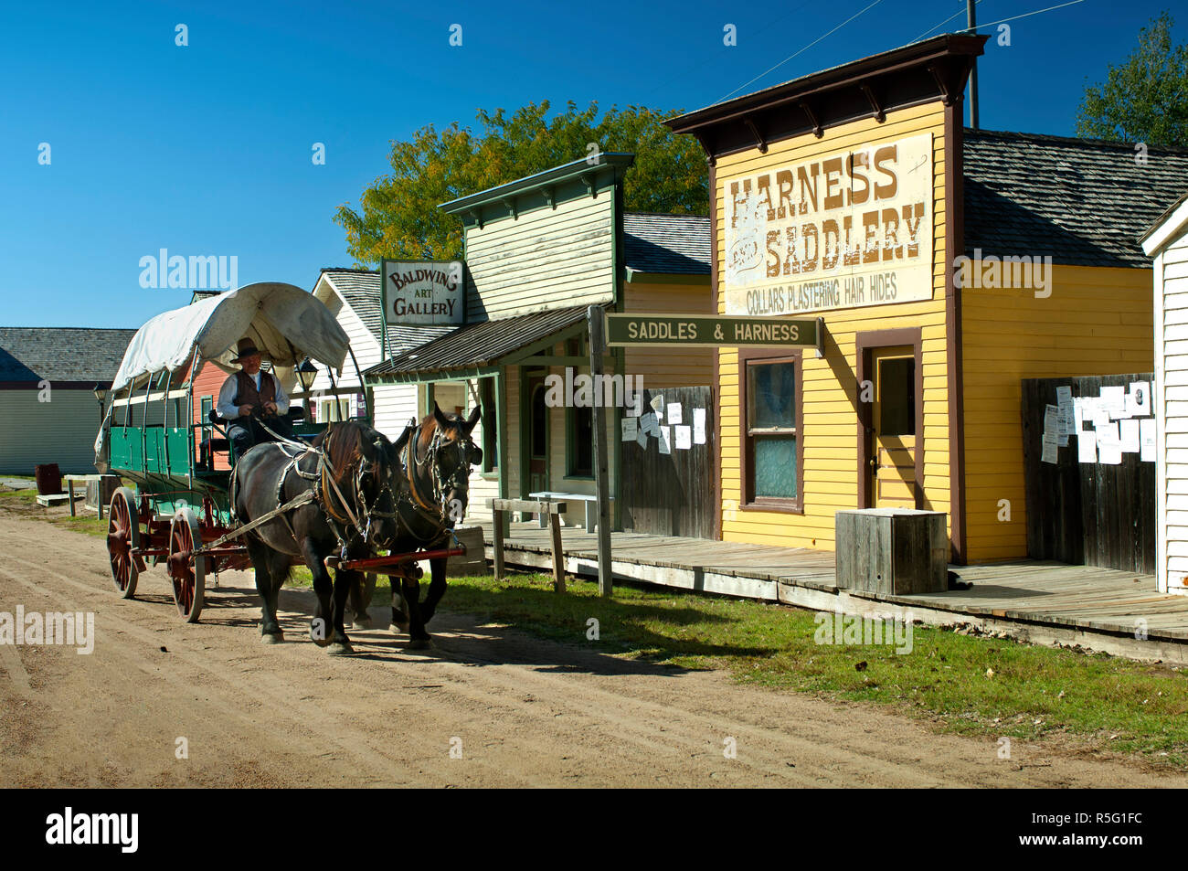 USA, Kansas, Wichita, Alte Cowtown, Museum, des mittleren