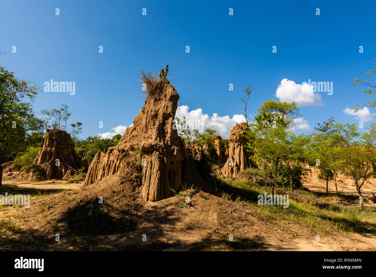 Boden Texturen Von Sao Din Nanoy Nan Thailand Stockfoto Bild