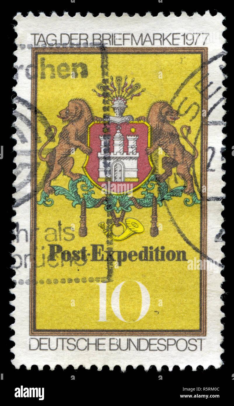 Deutsche Bundespost Berlin Stockfotos Deutsche Bundespost Berlin