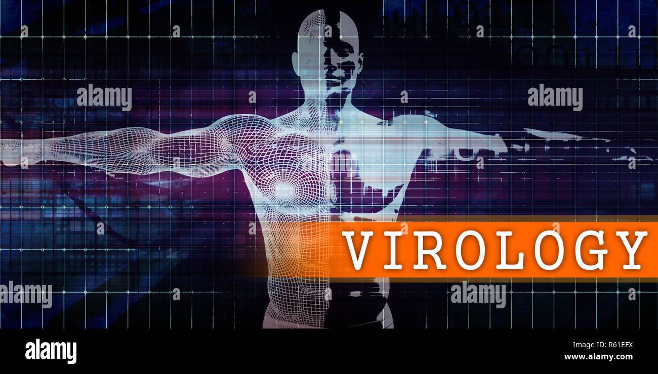 Virologie medizinische Industrie Stockbild