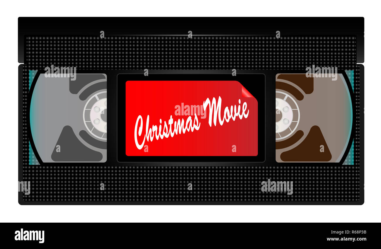 Weihnachten Film Video Kassette Stockbild