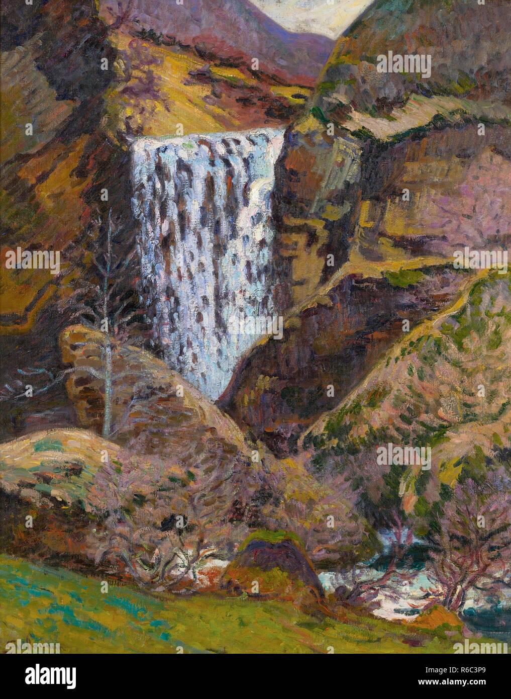 Landschaft Der Creuse 1895 Armand Guillaumin 1841 1927 Kunst