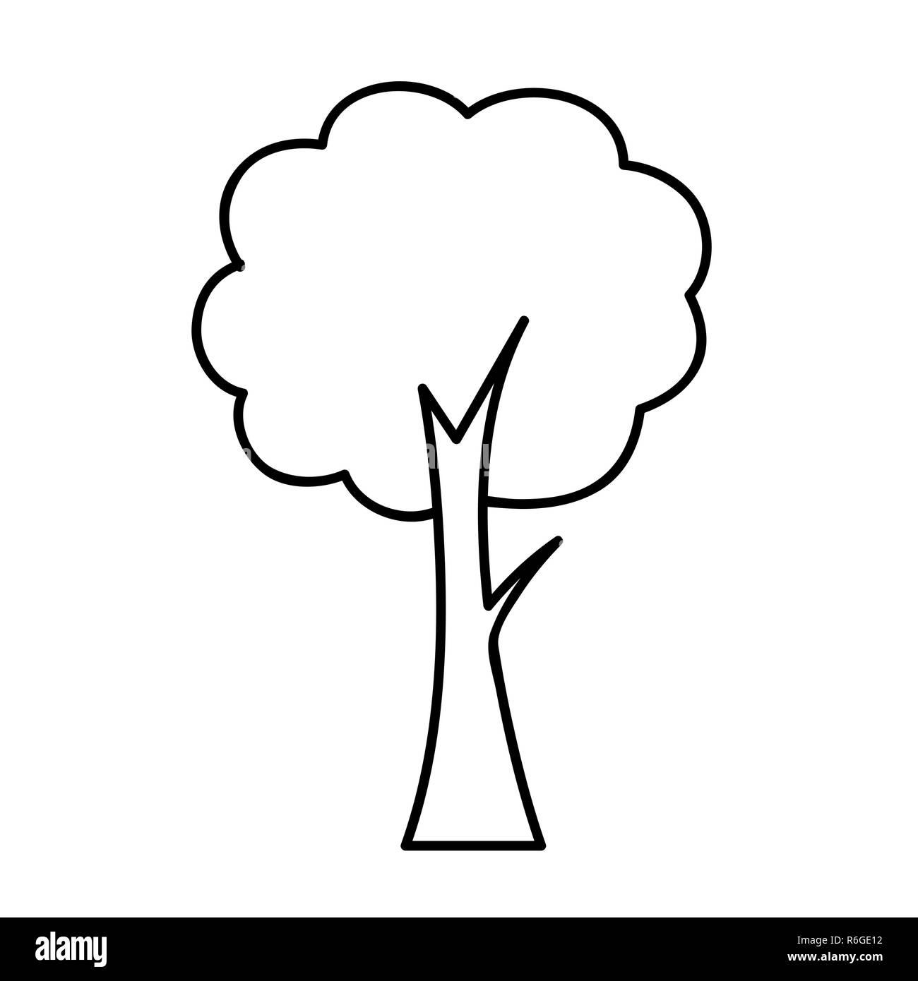 Vorlage Zum Ausdrucken Und Ausmalen Baum 15