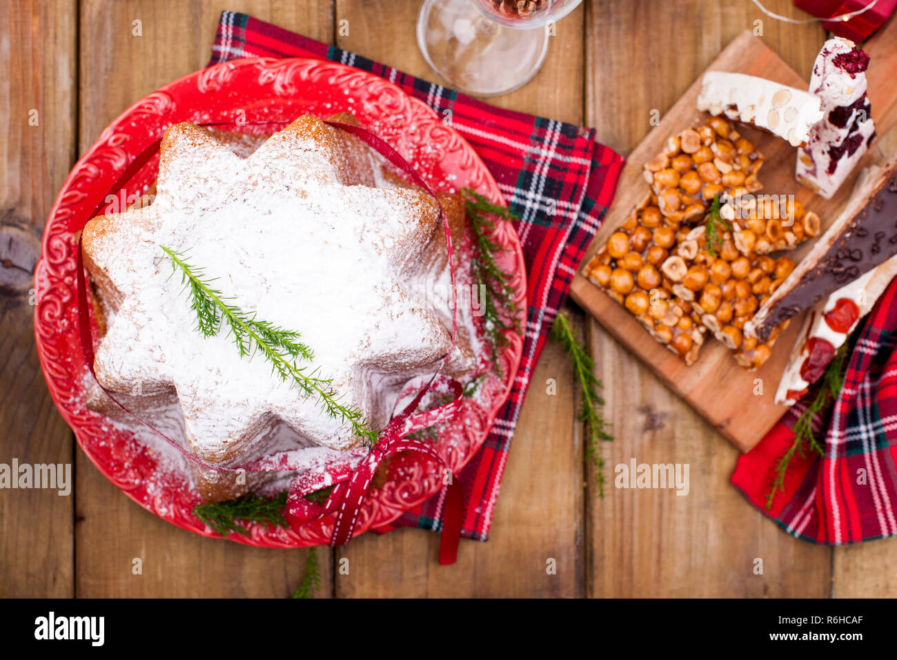 Weihnachtsessen Italien.Traditionelle Typische Süßigkeiten Für Weihnachten In Italien
