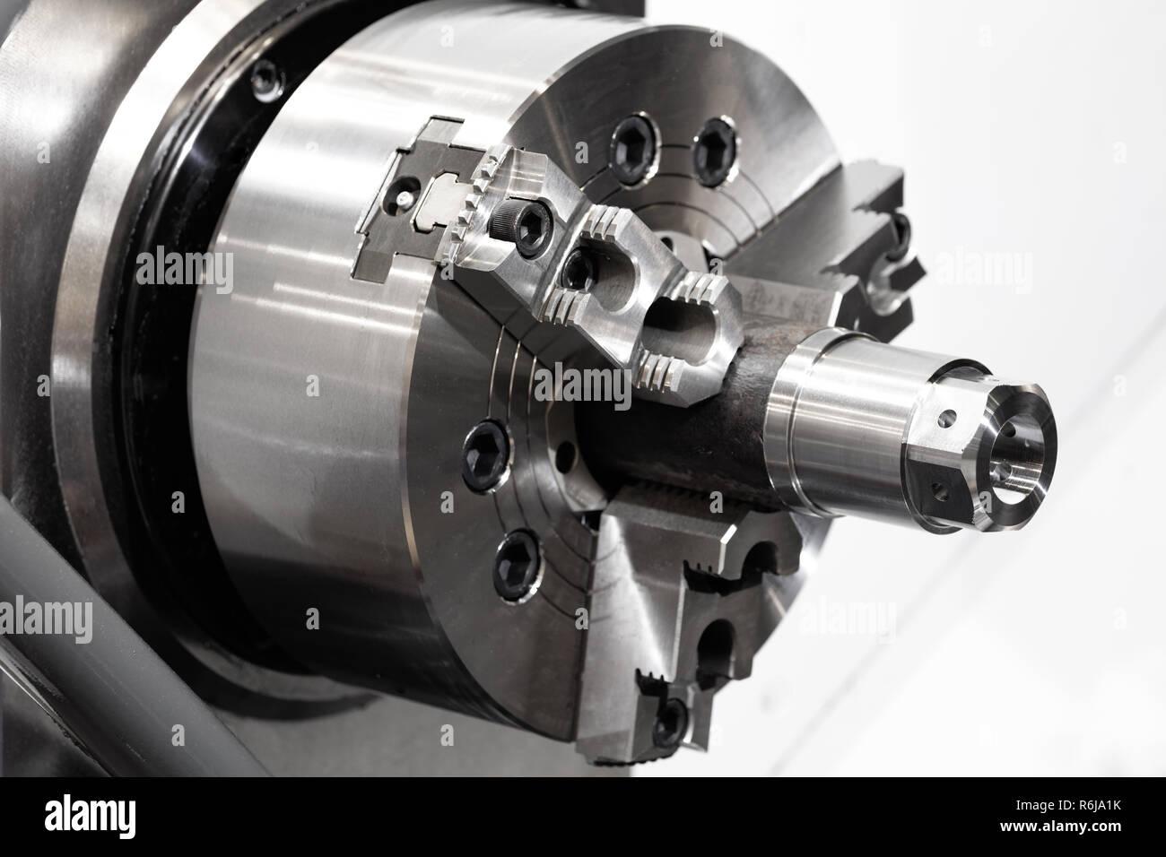Cnc Drehmaschine Maschinen Oder Drehmaschine Mit Drehender