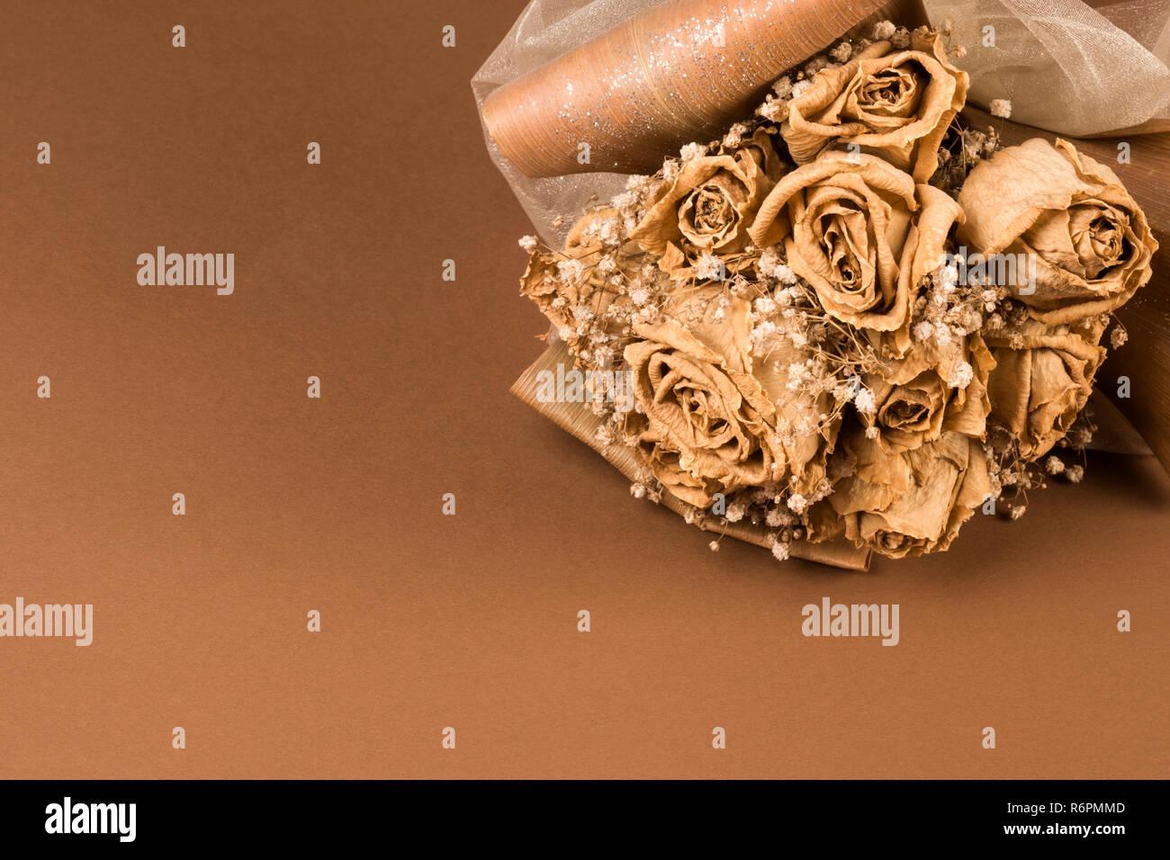 Getrocknete Hochzeitsstrauss Stockfoto Bild 227921917 Alamy