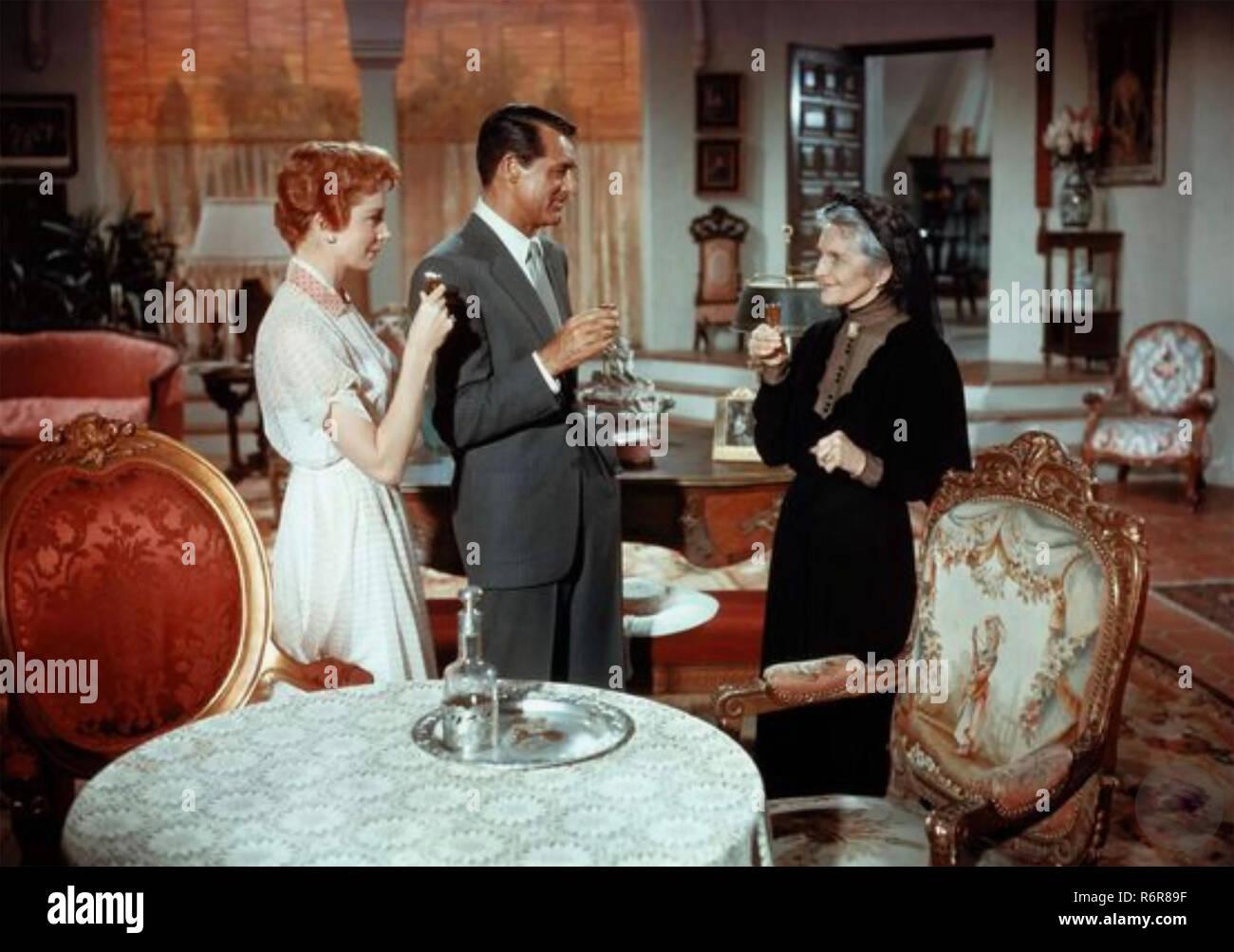 Eine AFFÄRE ZU ERINNERN, 1957 Twentieth Century Fox Film mit Von links: Deborah Kerr, Cary Grant, Cathleen Nesbitt. Stockbild