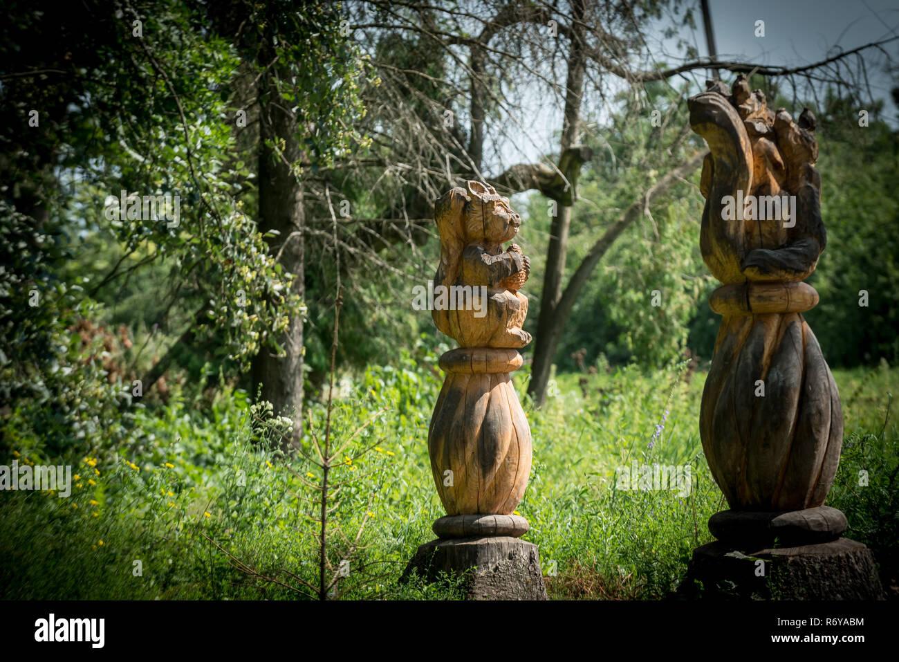 Eichhörnchen Statue Stockfotos Eichhörnchen Statue Bilder Alamy