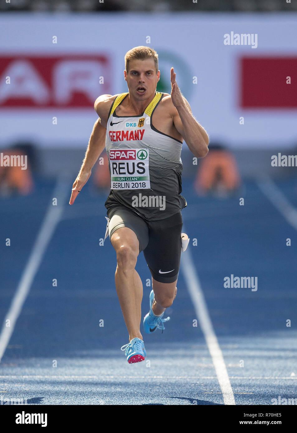 Julian Reus Deutschland Aktion Qualifizierung 100 M Der Männer