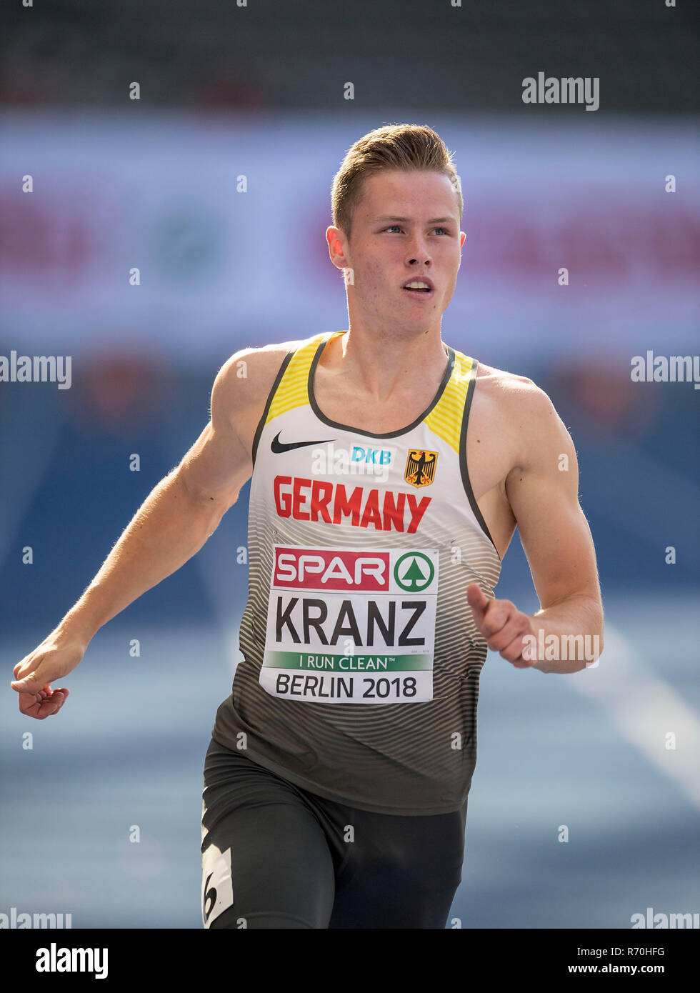 Berlin Deutschland 06 Aug 2018 Kevin Kranz Deutschland Aktion