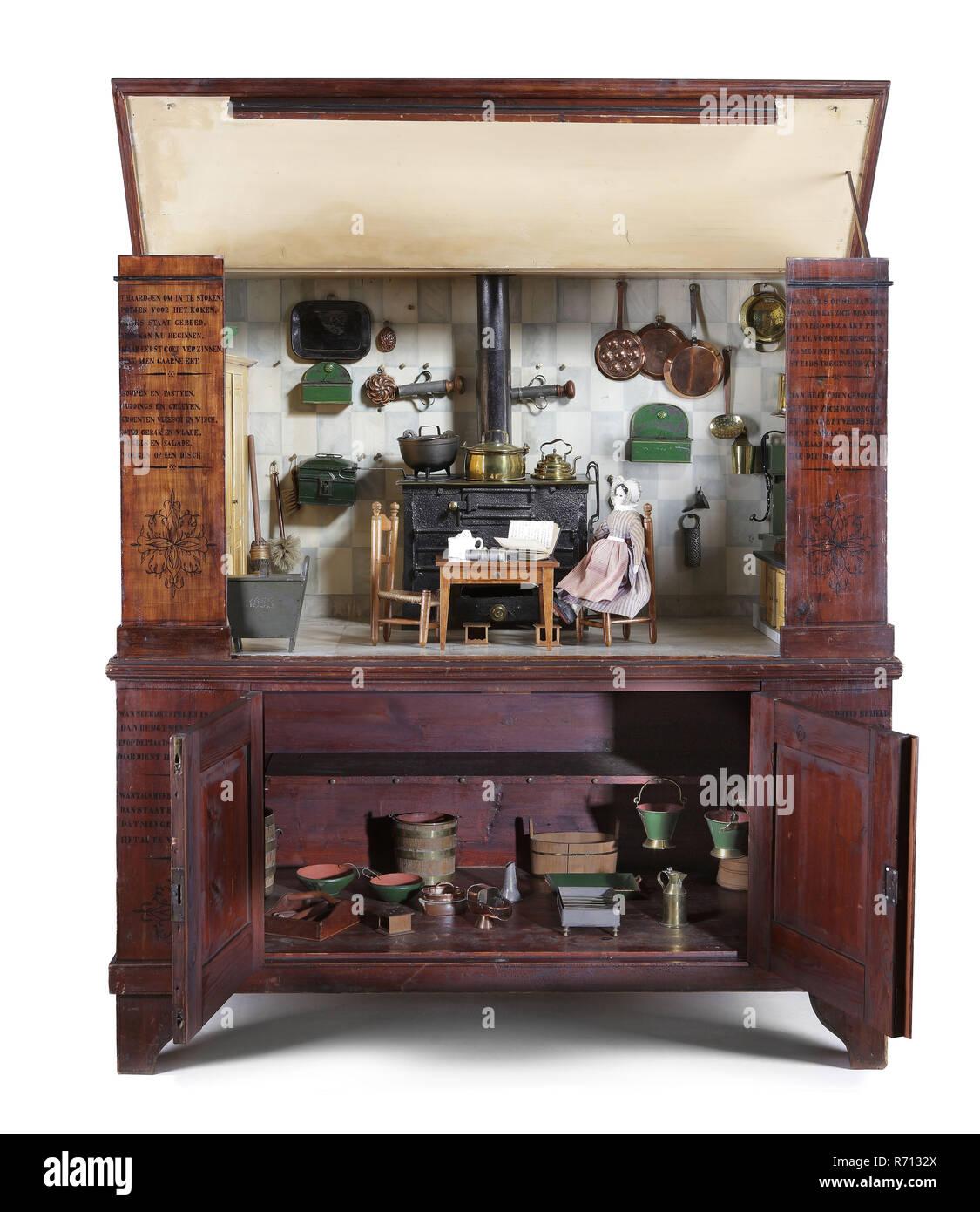 Te Poel, Küche aus Holz für Kinder Für Kinder, cupplate mit Küche ...