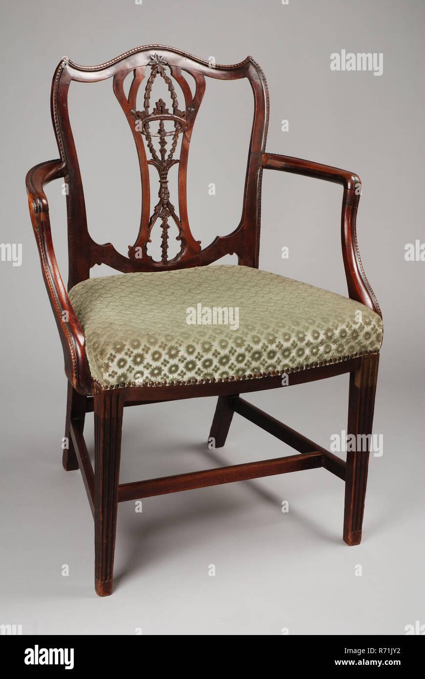 Stuhl Mahagoni Möbel SesselSessel möbel Chippendale eHIbWDE29Y