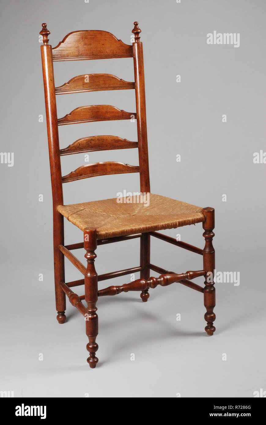 Kirschholz taste Stuhl, knopf Sitz Stuhl möbel Möbel ...