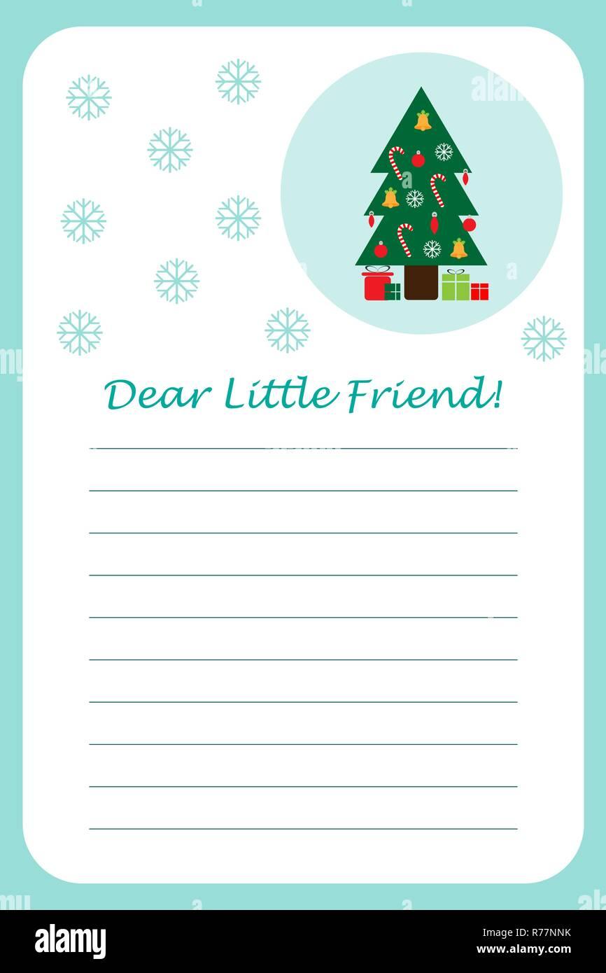 Weihnachten Brief Vom Weihnachtsmann Für Kinder Vorlage Layot Spaß