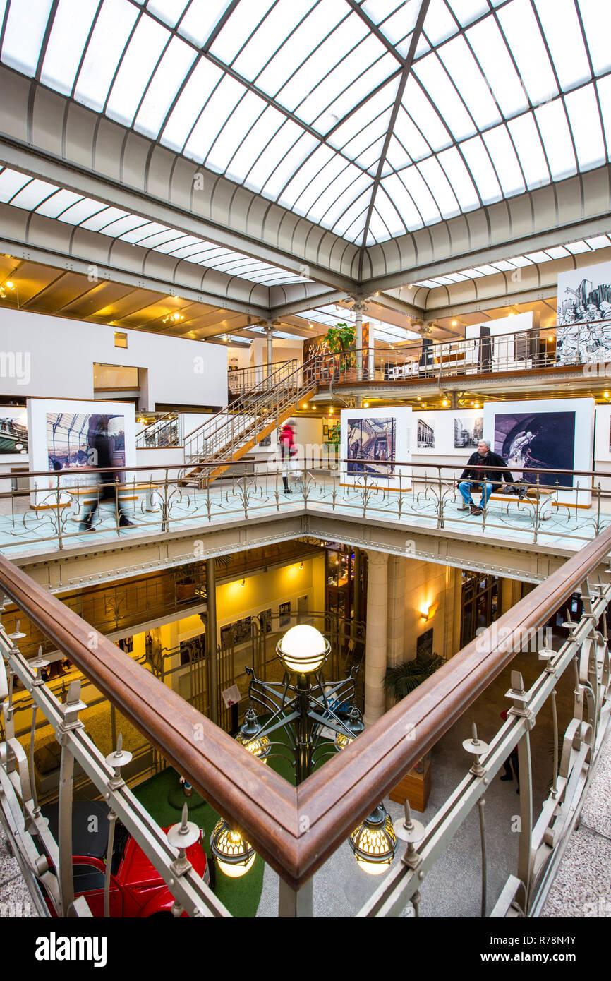 Belgisches Comic-Zentrum, Brüssel, Flandern, Belgien Stockbild