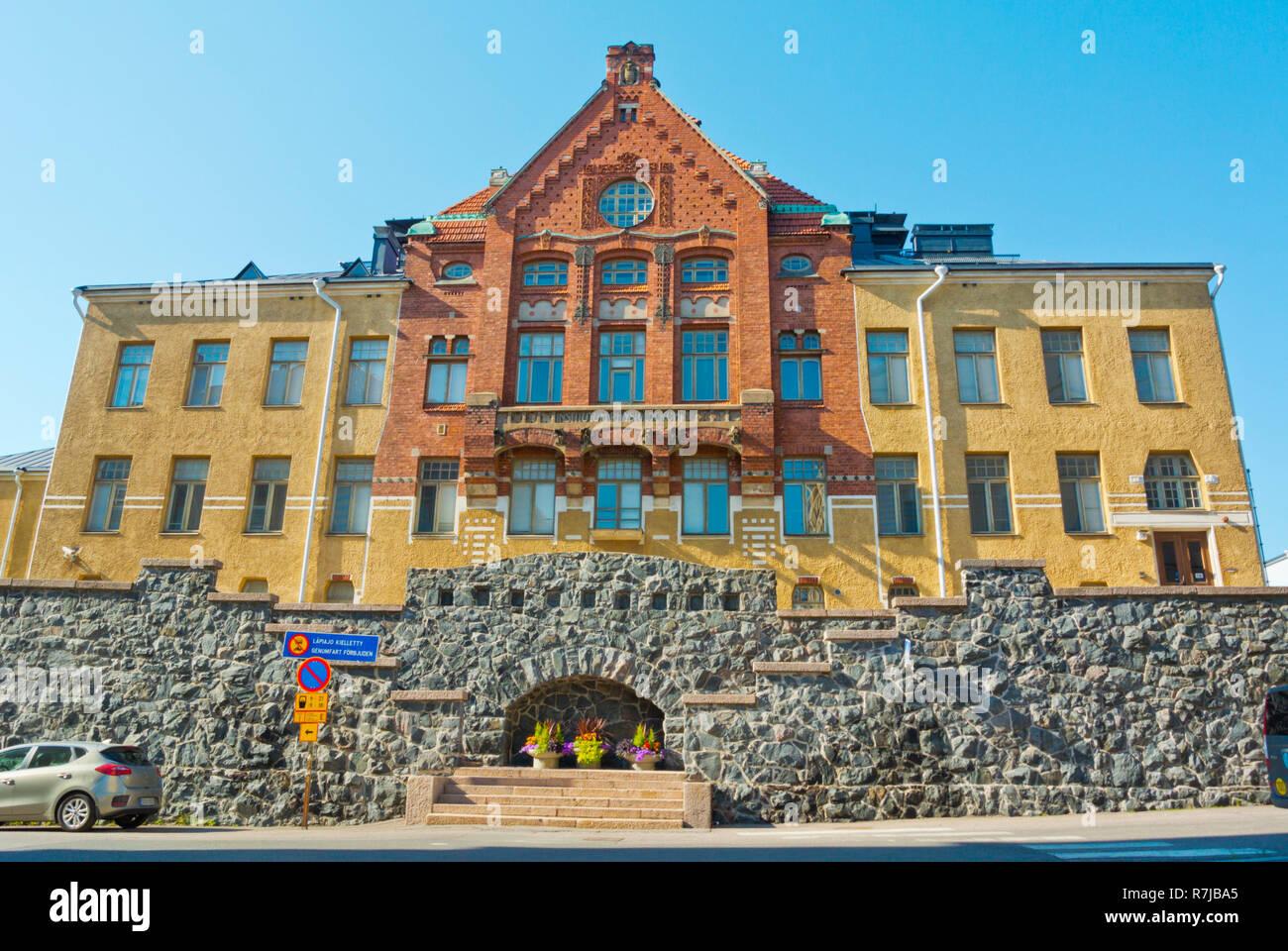 Fysiologian laitos, Abteilung für Physiologie und Anatomian laitos, Institut für Anatomie, Universität Helsinki, Kruununhaka, Helsinki, Finnland Stockbild