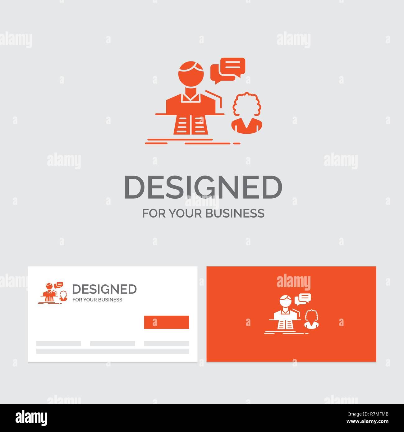 Business Logo Vorlage Für Beratung Chat Antwort Kontakt
