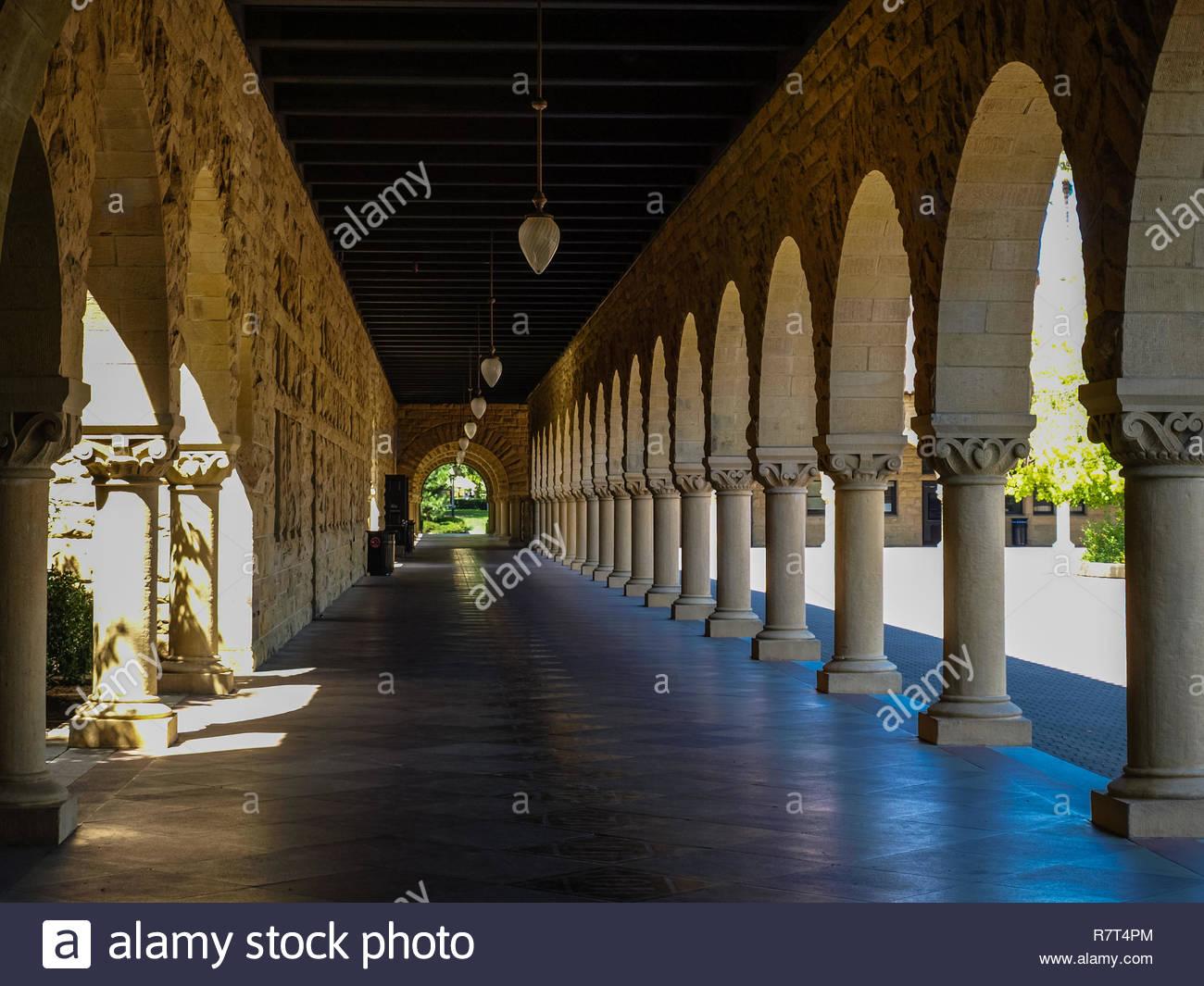 Korridore der Weisheit Stockbild