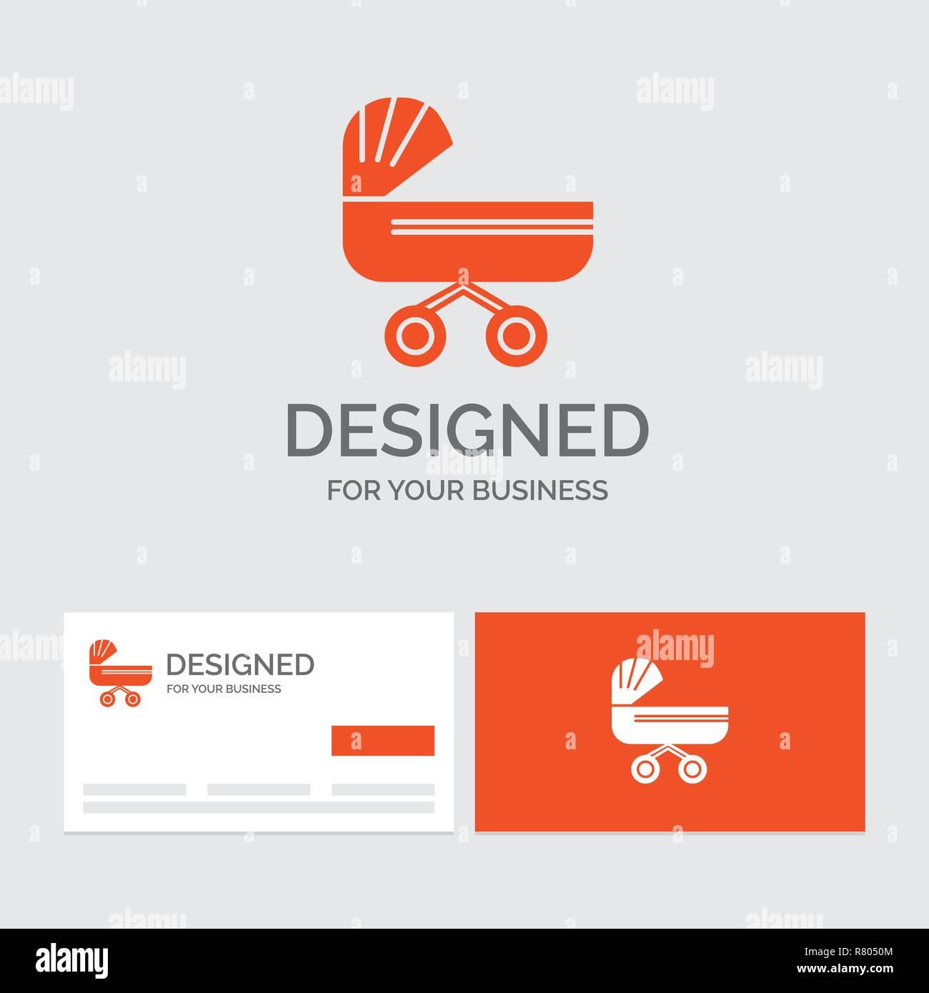 Business Logo Vorlage Für Trolly Baby Kinder Push