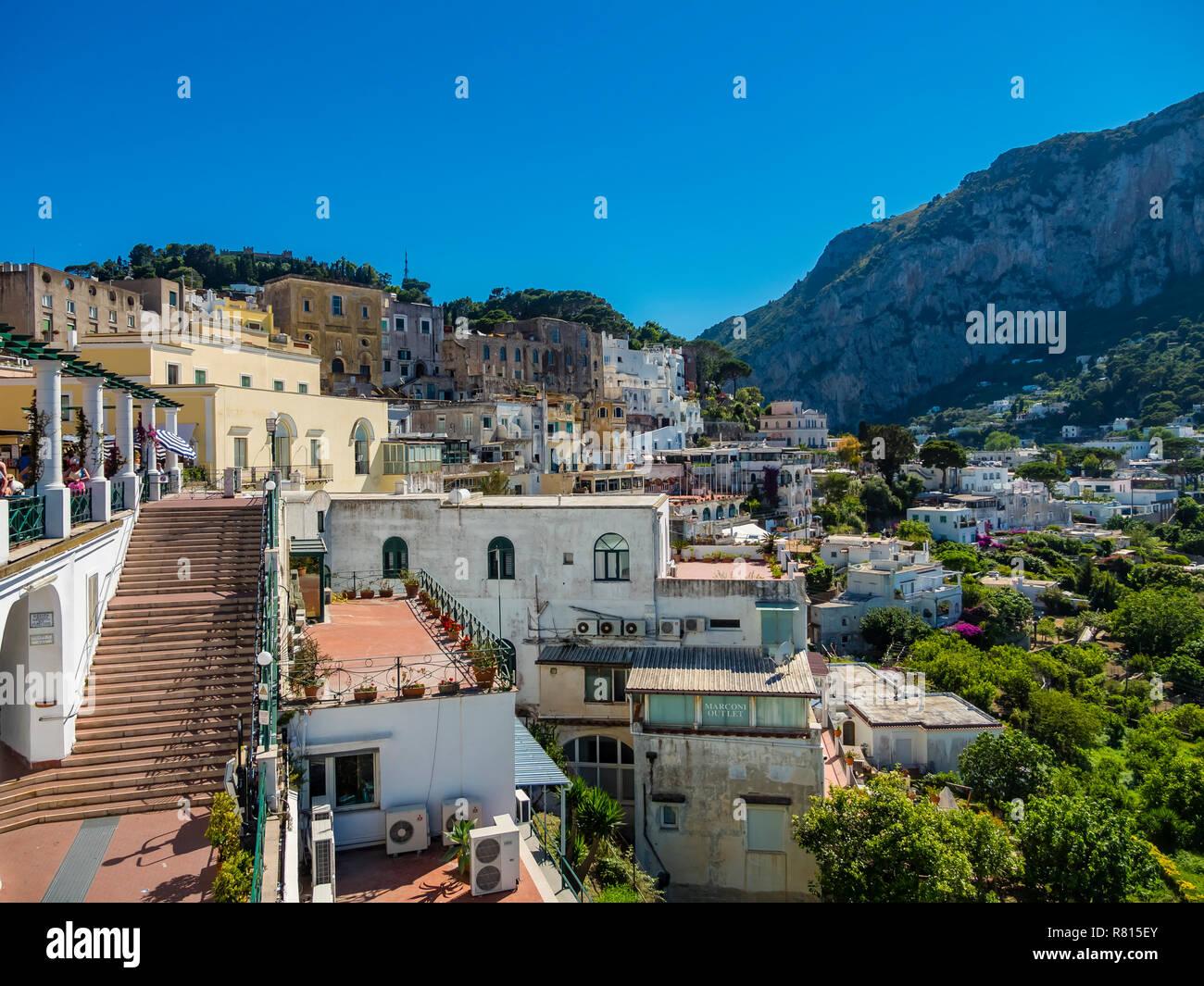 Capri Campania Stockfotos & Capri Campania Bilder - Alamy