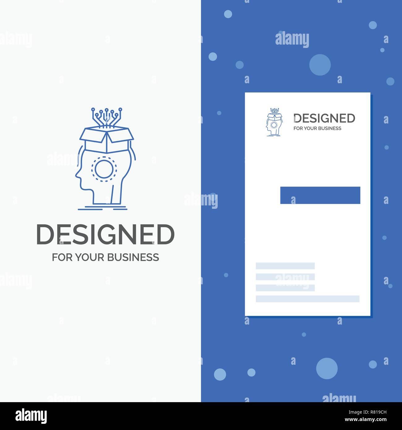 Business Logo Für Sousveillance Künstliche Gehirn Digital