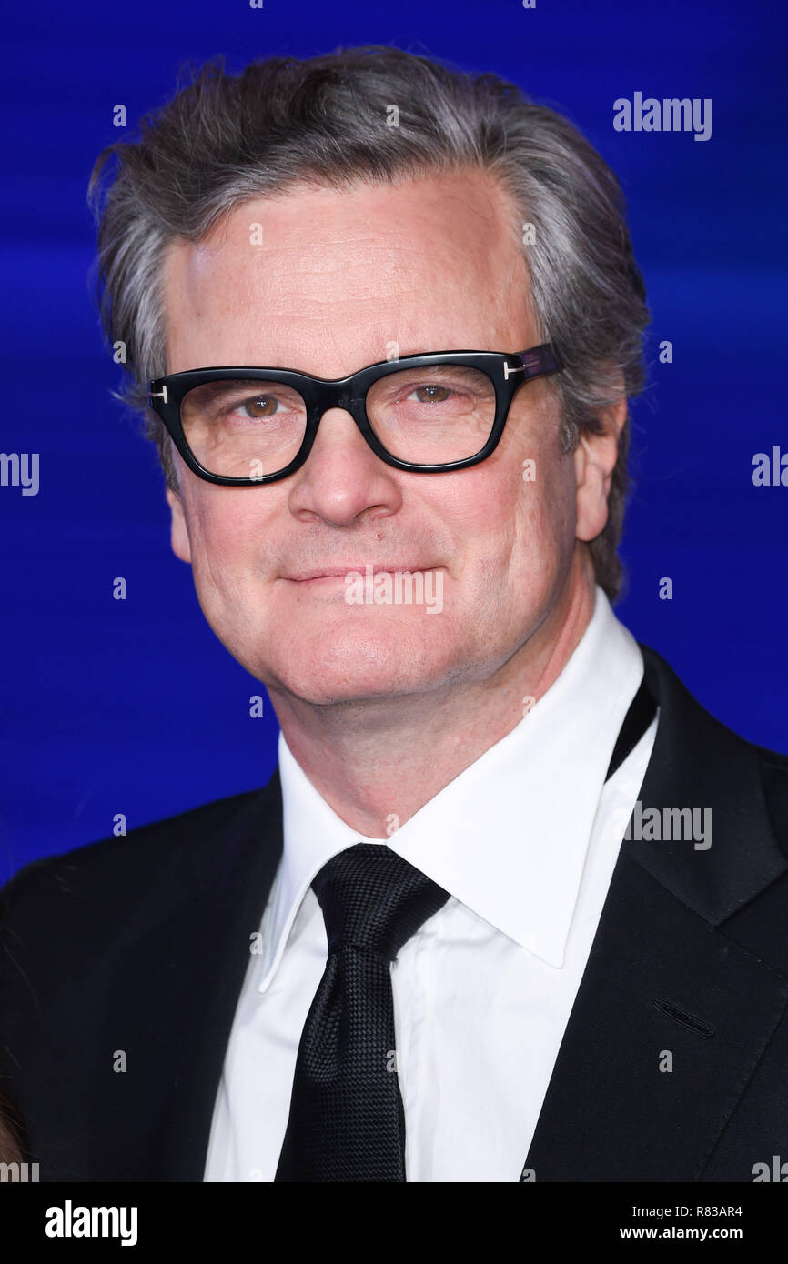 London, Großbritannien. Dezember 12, 2018: Colin Firth an der BRITISCHEN Premiere von 'Mary Poppins gibt 'in der Royal Albert Hall, London. Bild: Steve Vas/Featureflash Credit: Paul Smith/Alamy leben Nachrichten Stockbild