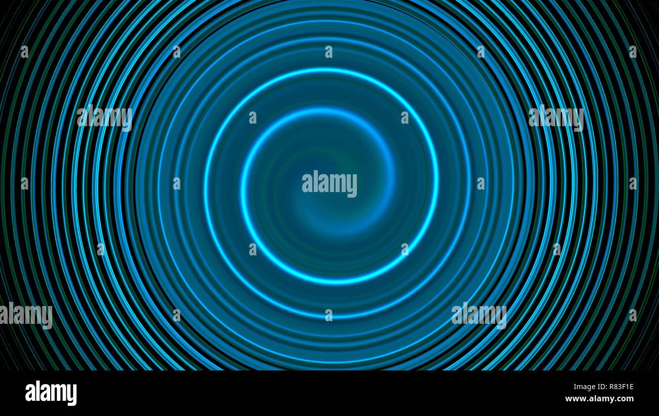 Abstrakte twirl spin Linien, computer-generierte Hintergrund, 3D-Rendering im Hintergrund Stockbild