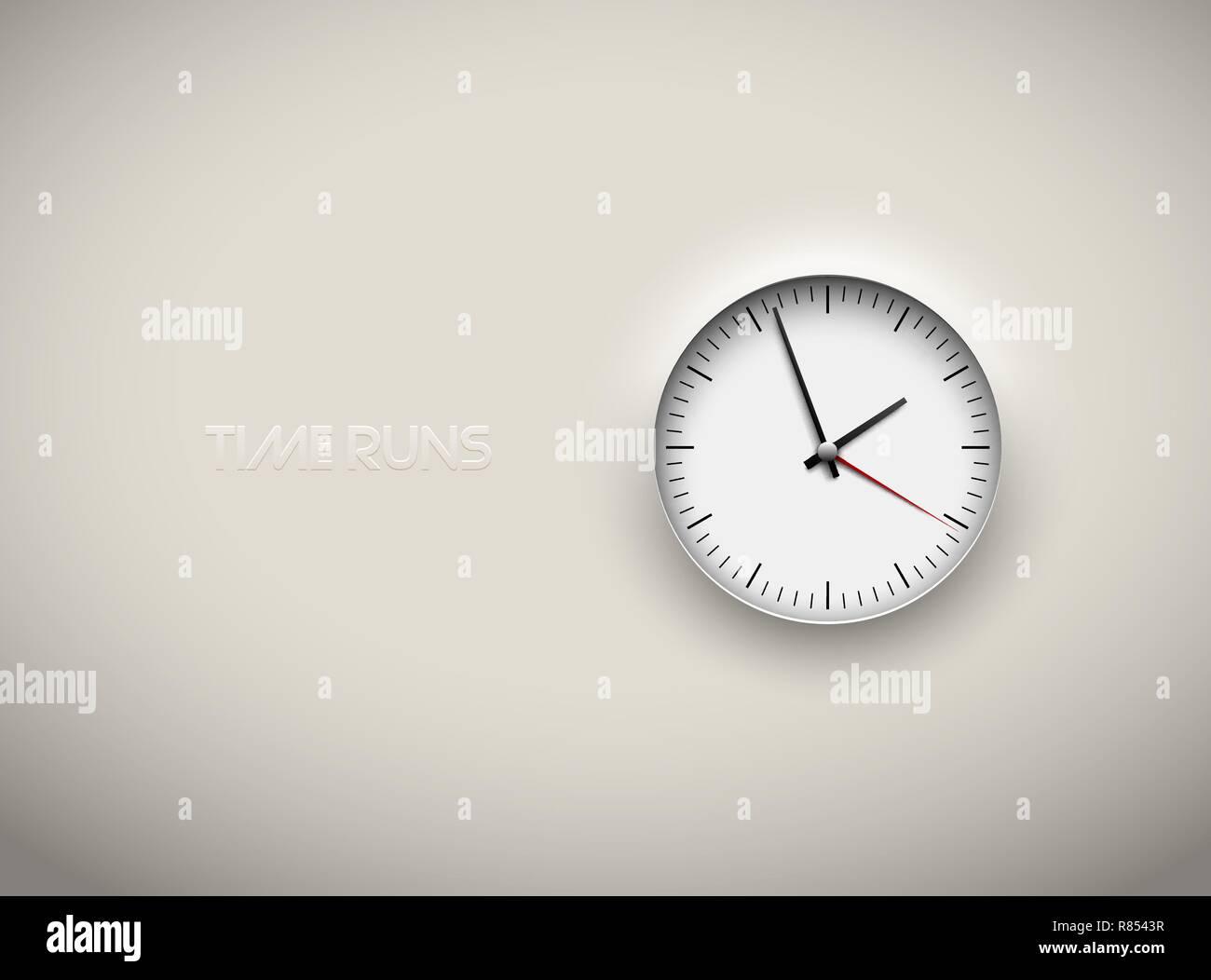 Uhrzeit als hintergrund