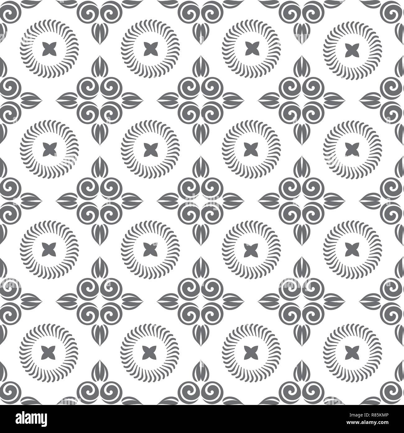 Nahtlose Muster Silhouette Ausschneiden Masswerk Locken Design Fur Scrapbooking Visitenkarten Hintergrund Fur Das Handwerk Stock Vektorgrafik Alamy