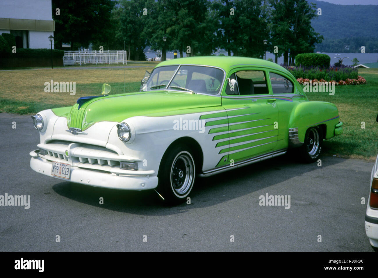 Autos Fahrzeuge Automobile, Oldtimer aus den 50er, 60er, 70er Stockbild