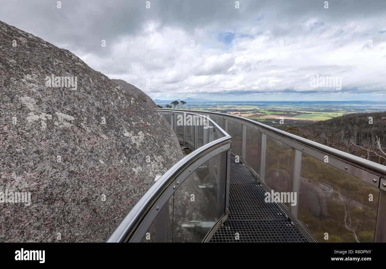 Granit, Porongurup, Western Australia Stockbild