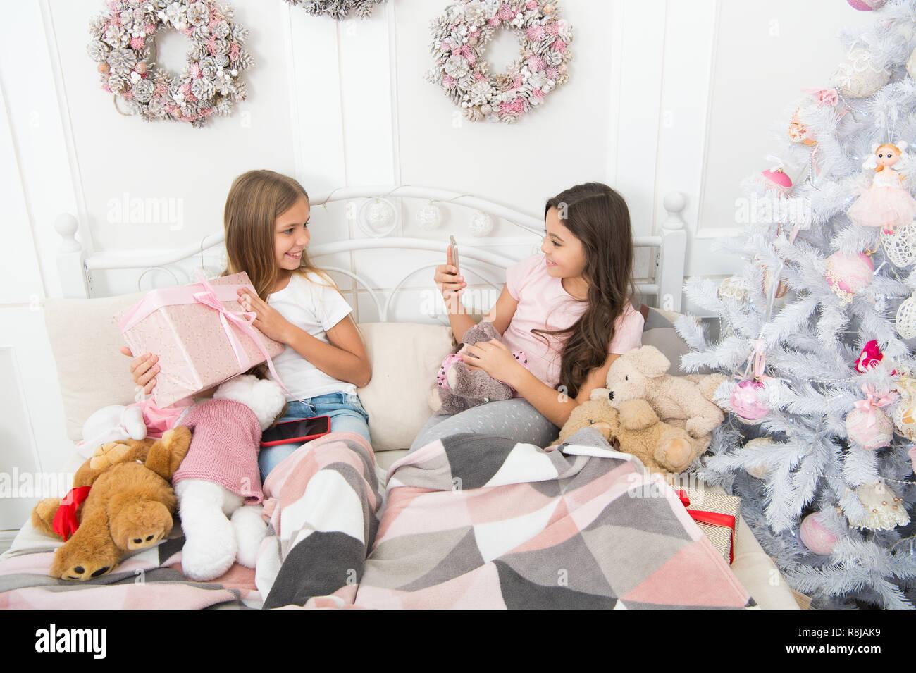 Ein Urlaub Bild Messaging Zu Weihnachten Und Neujahr Foto Mit