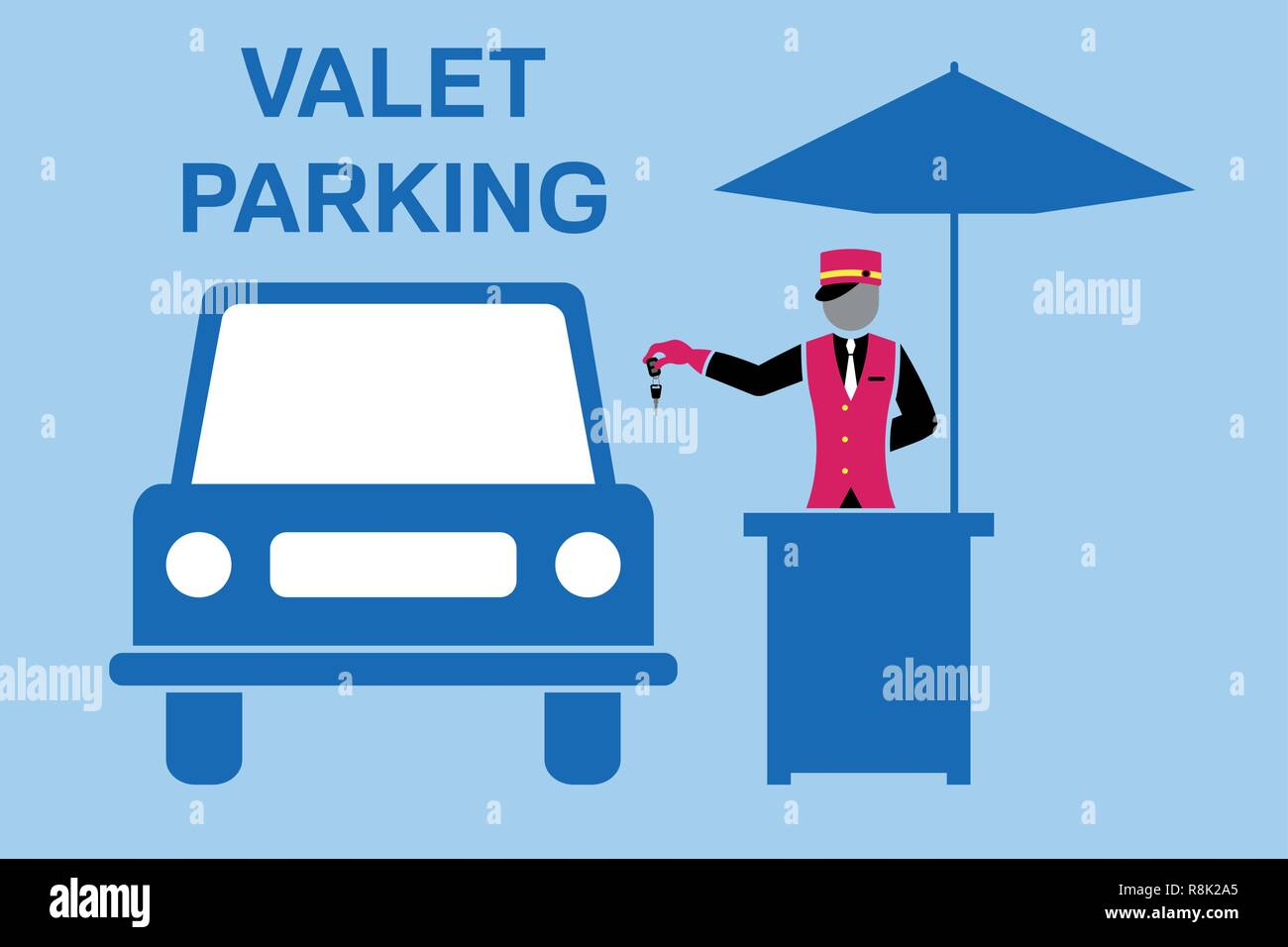 Chauffeur Stock Vektorgrafiken Kaufen Alamy