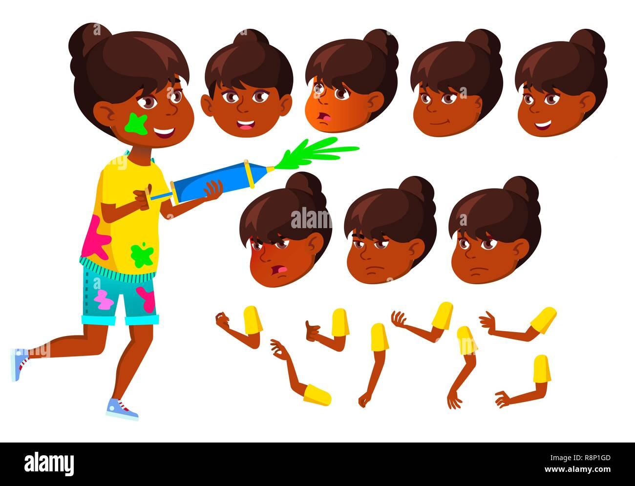 Asian Kerl, der indisches Mädchen