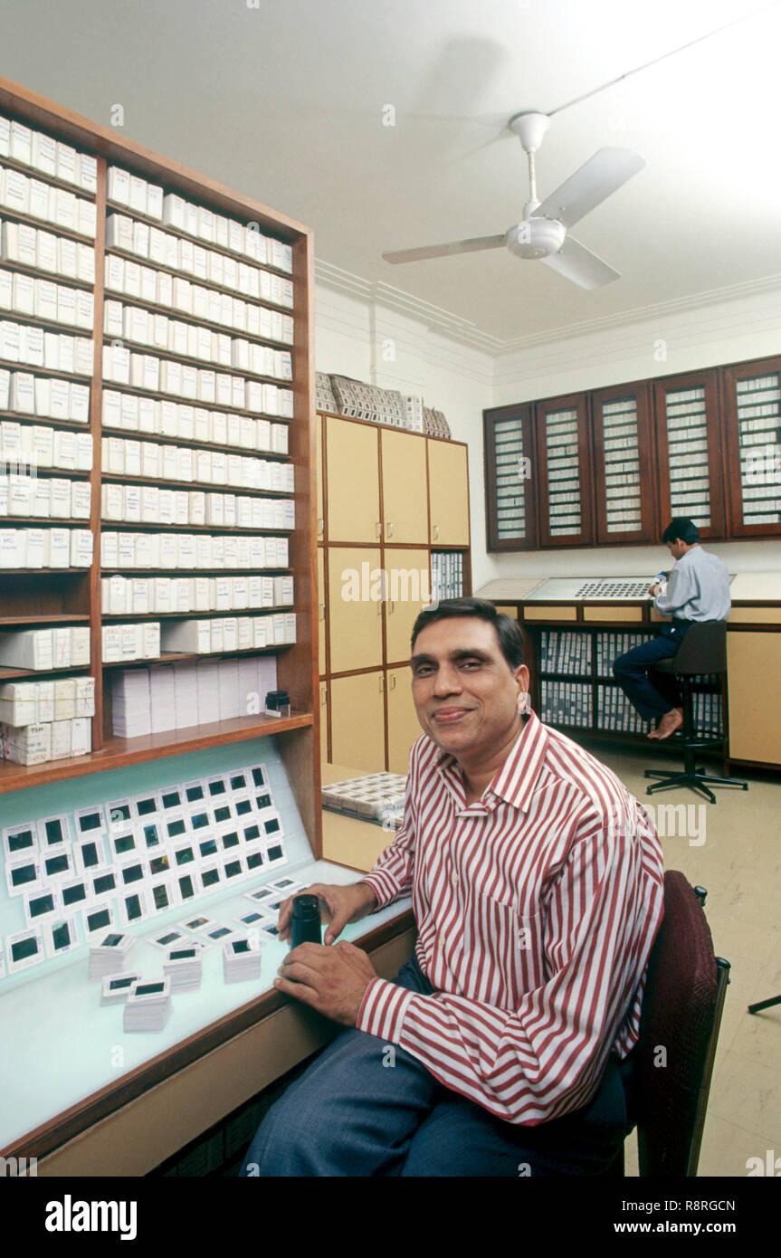 Jagdish Agarwal In DPA HERR Stockbild