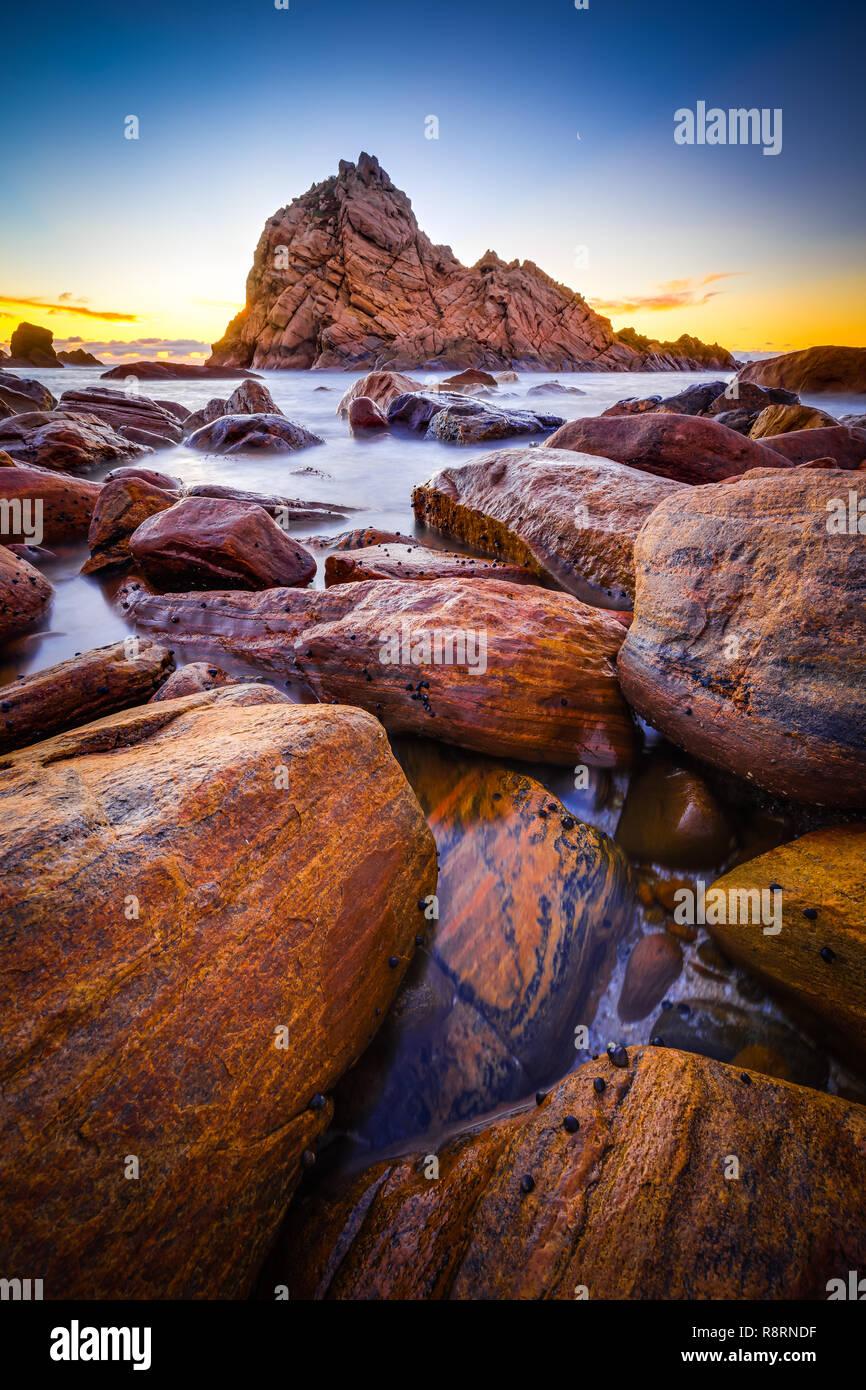 Sugarloaf Rock Stockbild