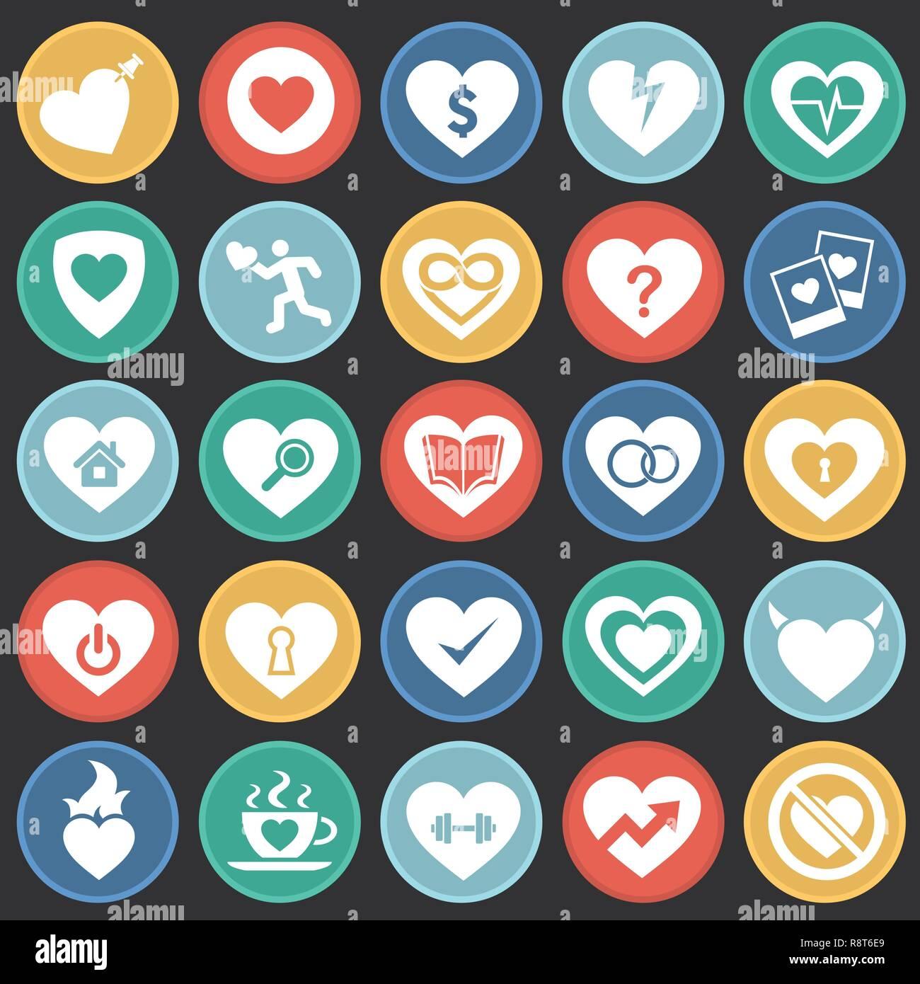 App mit herz symbol