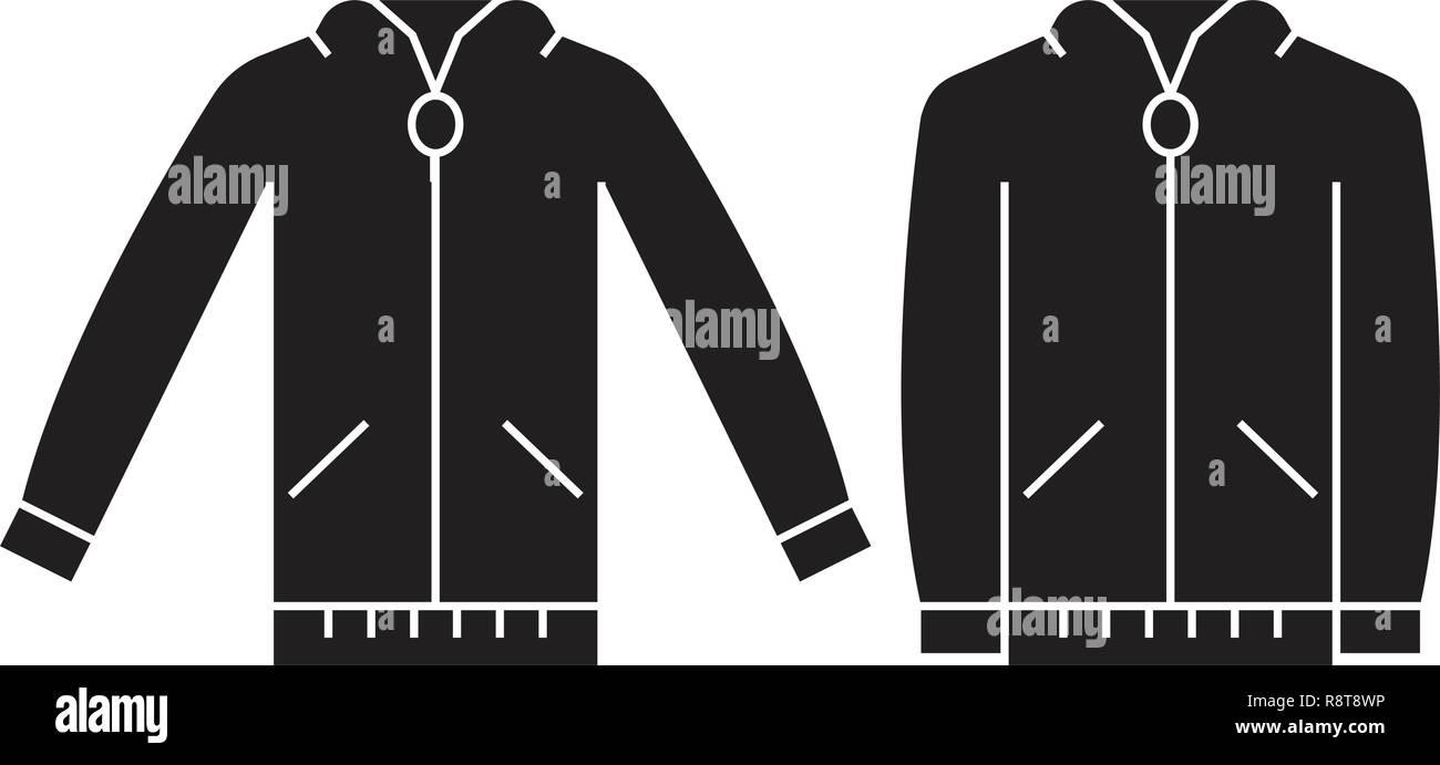 finest selection 83379 2dcd2 Pullover sweatshirt schwarz Vektor Konzept Symbol. Pullover ...