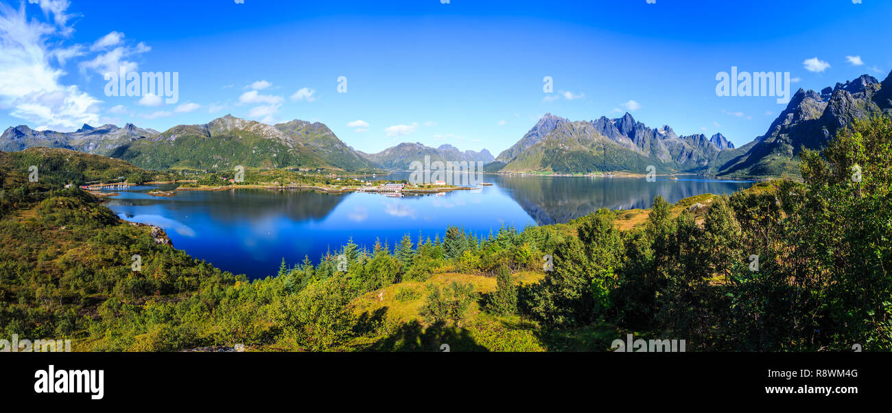 Lofoten, Norwegen Stockbild