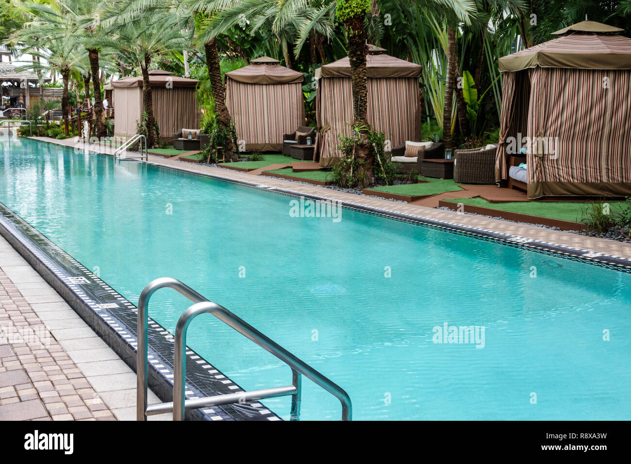 Collins Avenue Miami Beach Florida Hotel National Swimming Pool
