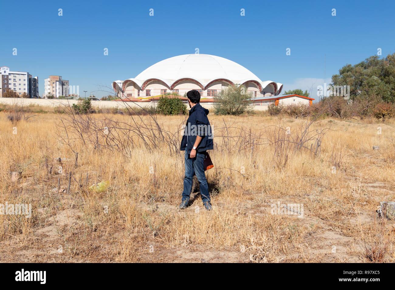West Aserbaidschan, Urmia Stadt Stockbild