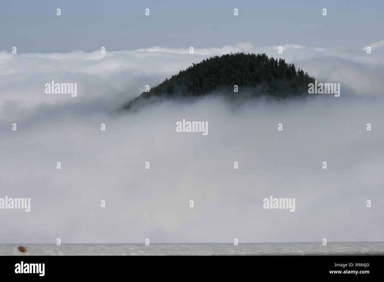 Hermosa Vista desde las Islas Canarias, España Stockbild