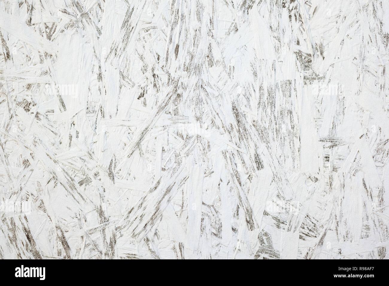Extrem Textur von großen Holz Spanplatte weiss lackiert Hintergrund ML74