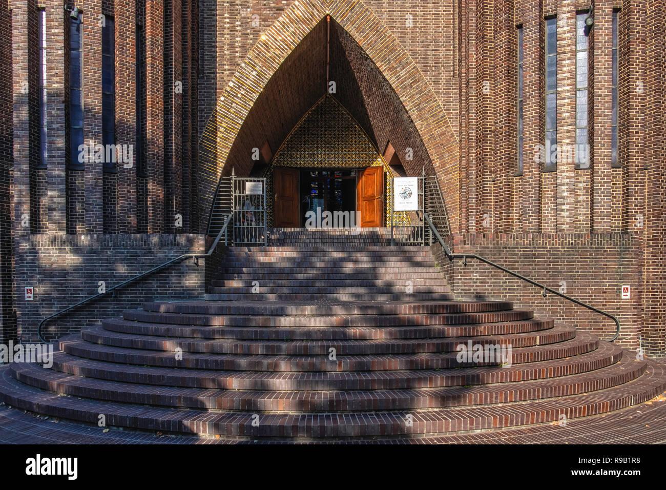 Berlin Wilmersdorf Kirche Am Hohenzollernplatz Evangelische Kirche