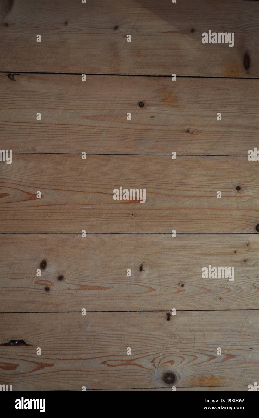 Hellbrauner Holzplatte wand Textur Stockbild